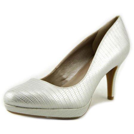 - Alfani Madyson   Open Toe Synthetic  Platform Heel
