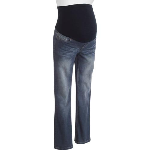 Planet Motherhood Maternity Full-Panel Bootcut Denim Jeans