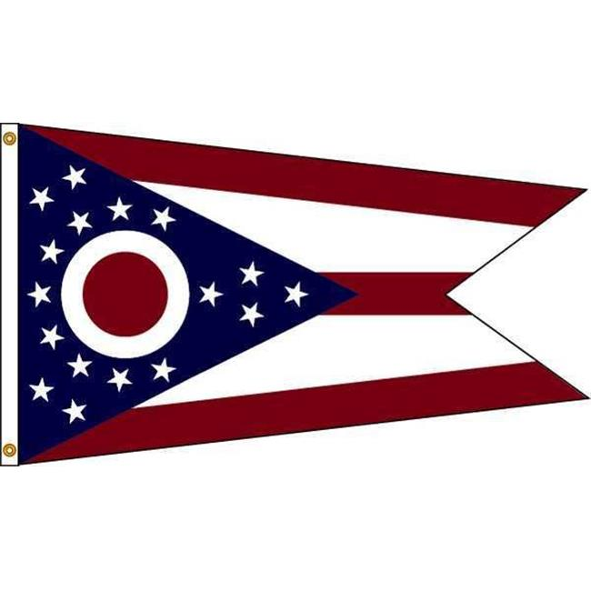 Annin Flagmakers Nyl-Glo Ohio Flag