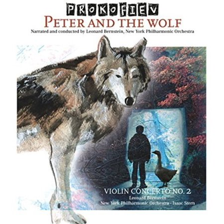 Peter & The Wolf / Violin Concerto 2 (Vinyl) (Concerto For 2 Violins In D Minor)
