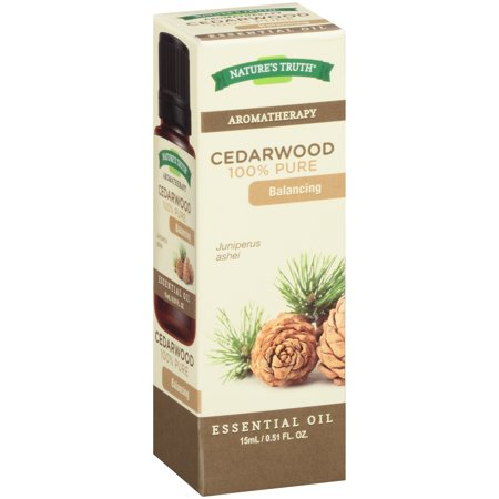 Nature's Truth Aromatherapy Cedarwood Essential Oil, 0.51 Fl Oz ()