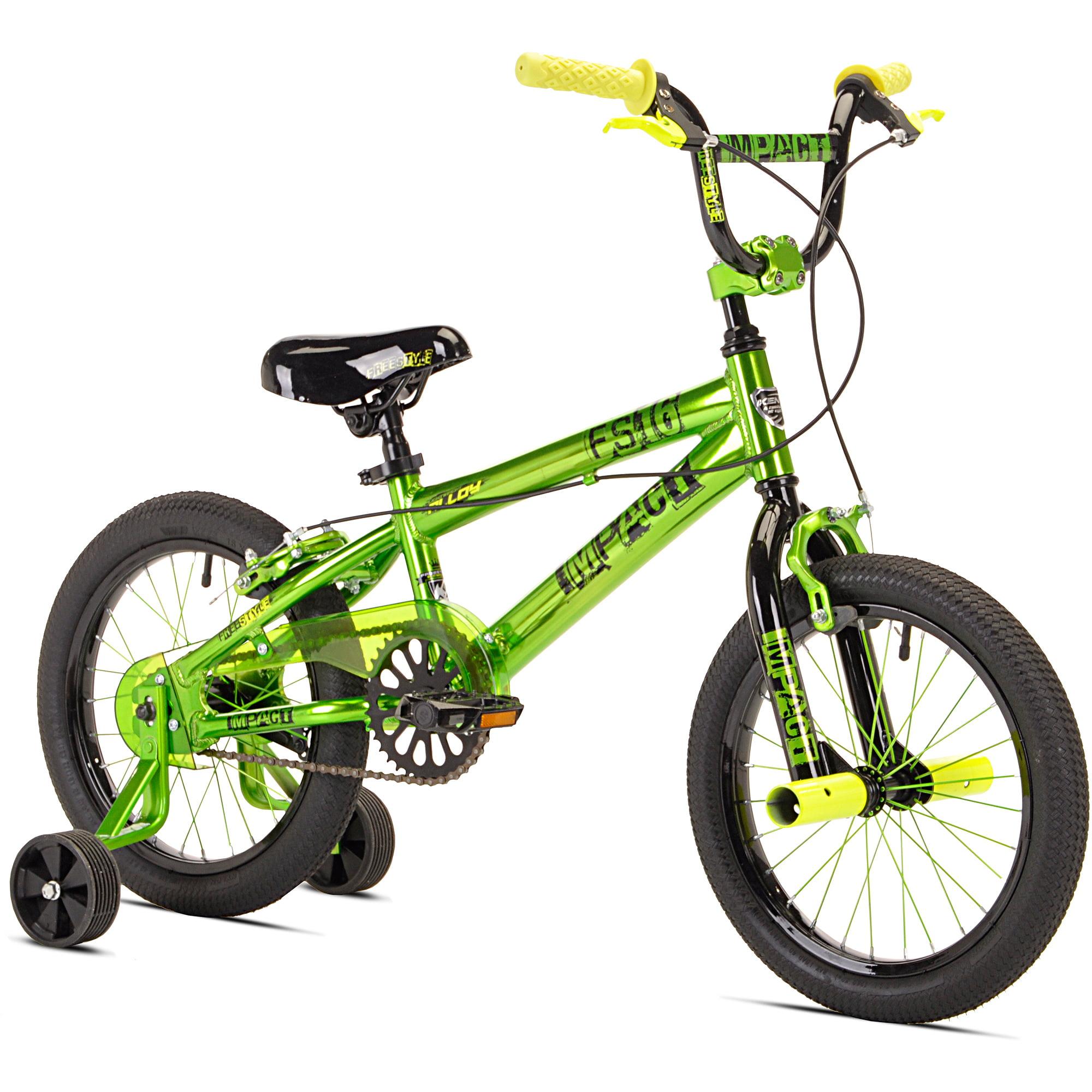 "16"" Kent Impact Boys' Bike, Green"