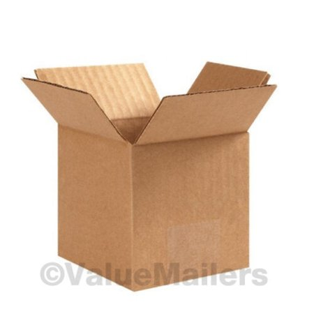 50 4x4x4 Packing Shipping Cartons Corrugated - 4x4x4 Boxes