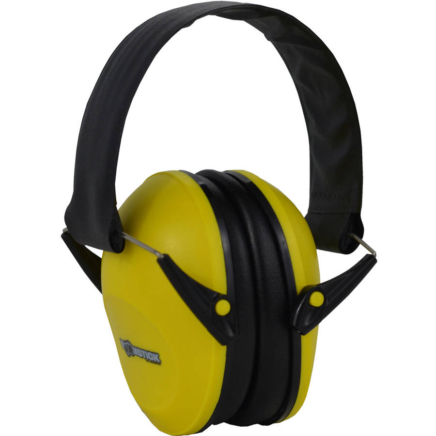 Boomstick Gun Accessories Yellow Ear Muff Hearing Protection