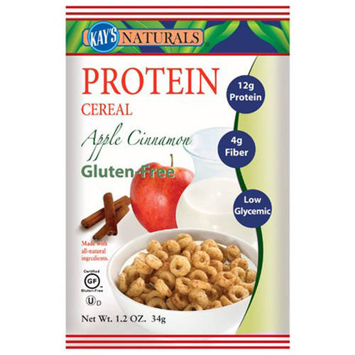 Kay's Naturals Apple Cinnamon Protein Cereal, 7.2 oz