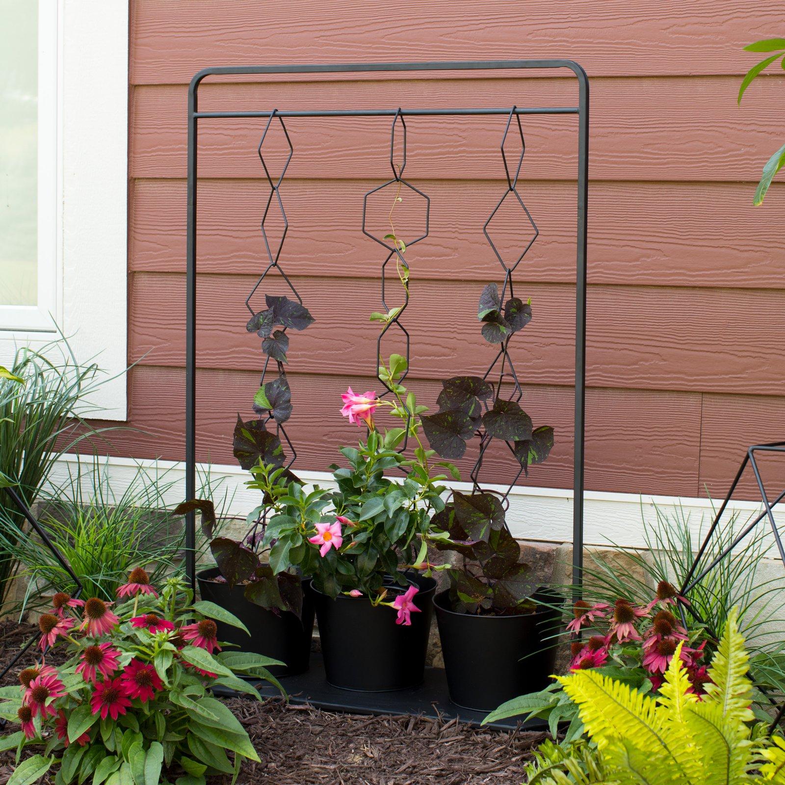 Belham Living Aldrich Container Garden with Hanging Trellis by 4 Seasons Global Inc