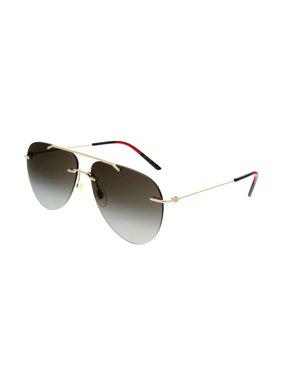Gucci GG0397S 003 Gold Pilot  Sunglasses