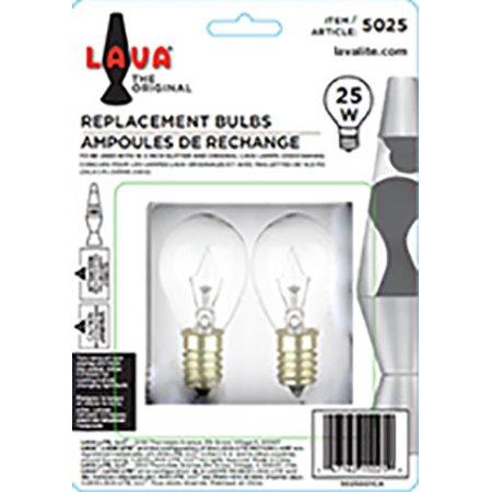 Lava Lite 25 Watt Replacement Bulbs Walmartcom