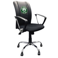 Milwaukee Bucks NBA Curve Task Chair with Secondary Logo Panel