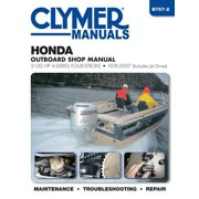 Honda Outboard Shop Manual : 2-130 HP A-Series Four-Stroke 1976-2007 (Includes Jet Drives)