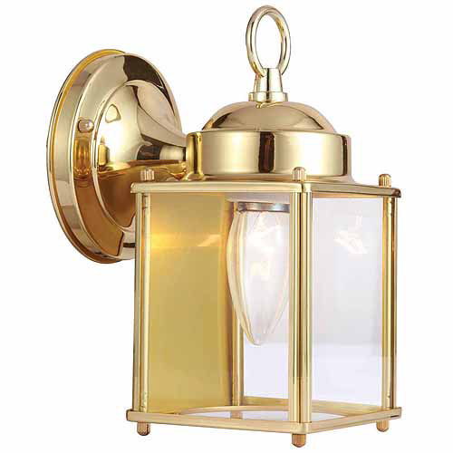 Design House Coach 1-Light Outdoor Wall Lantern