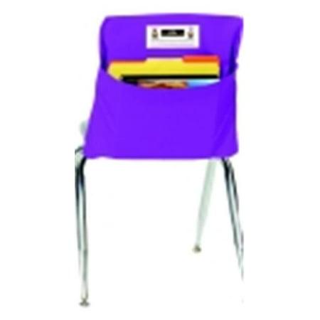 Seat Sack Medium Storage Pocket With New Name Card Slot - 15 x 10 inch - Grade 1 To 3, Purple