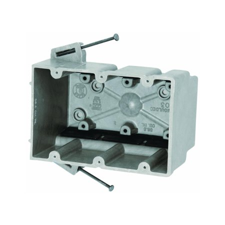 Allied Moulded 3300=NK 3 Gang Switch Box