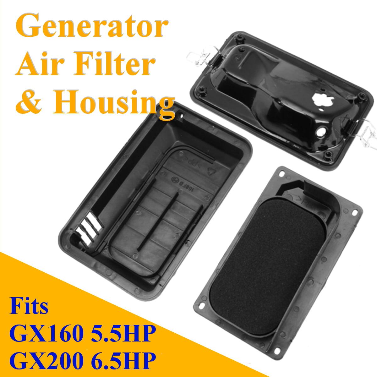 New Generator Air Filter Housing For Honda GX160 5.5HP GX200 6.5HP 17211-ZB2-000