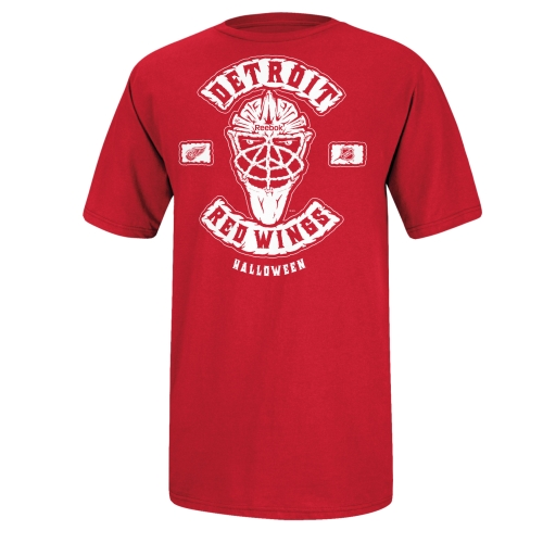 Reebok Detroit Red Wings Masked Intentions T-Shirt - Red