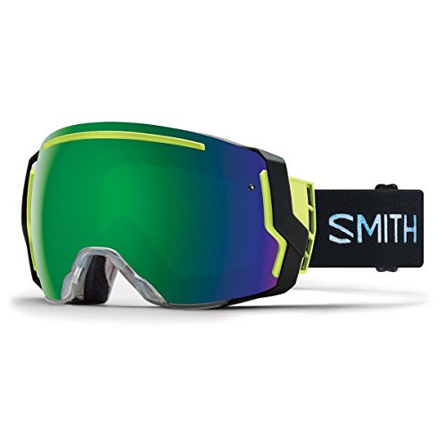 Smith Optics I O7 Snow Goggles Squall Frame, Chromapop Sun Green Mirror Lens by Smith Optics