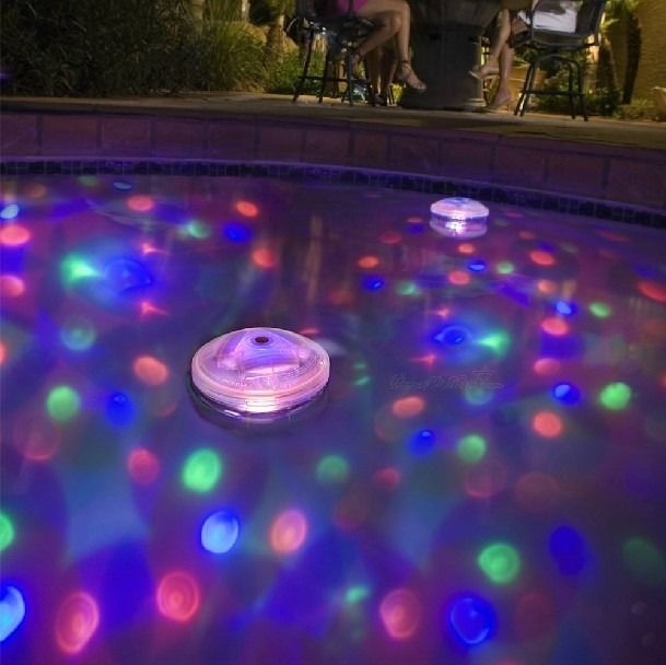 Floating LED Glow Lights Show Color-changing Disco Ball Pool Spa Pond Underwater