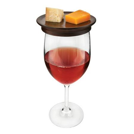 Twine Rustic Farmhouse: Wine Glass Topper Appetizer Plates - Farm Plates