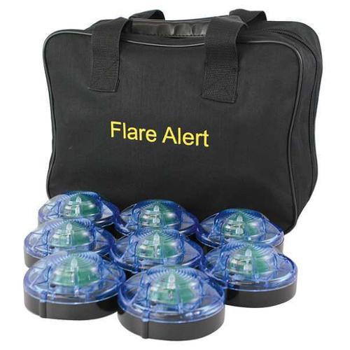 FLAREALERT B8BBP2ONLY LED Road Flare Kit, 1 Watt, Blue