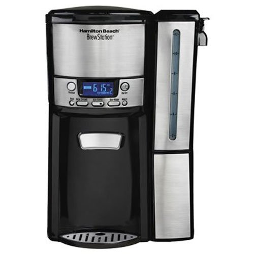 Hamilton Beach 12-Cup Coffee Maker, Programmable BrewStat...