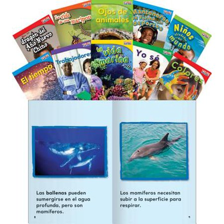 Time for Kids Informational Text Grade 1 Readers Spanish Set 2 10-Book Set (Time for Kids Nonfiction Readers) ()
