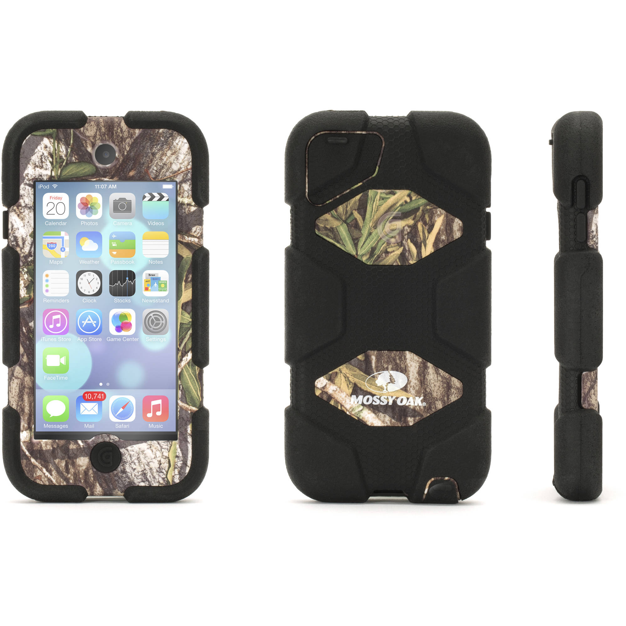 Griffin Survivor All-Terrain Case for Apple iPod touch, Mossy Oak Obsession