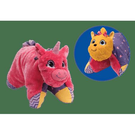Unicorn Pillow (Flip 'N Play Friends 2 in 1 Plush to Pillow Unicorn to)