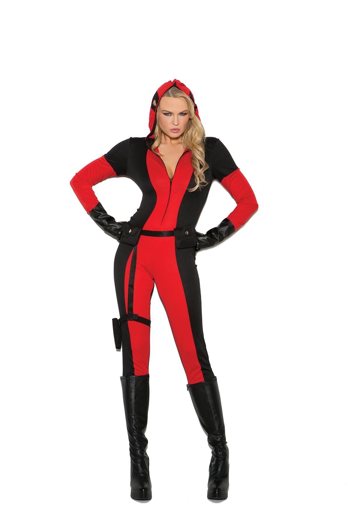 5b38fb643 Red Vinyl Jumpsuit Costume