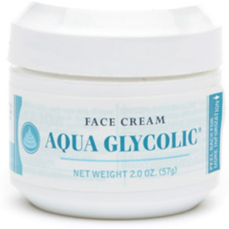 Merz Pharmaceuticals Aqua Glycolic  Face Cream, 2 oz - Two Face Wig