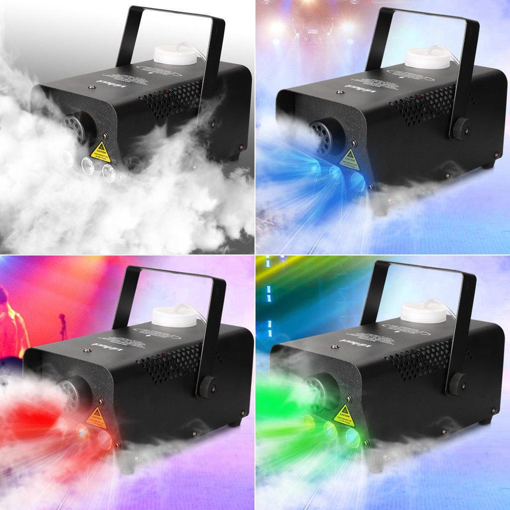 Warehouse Disco Light: 500W LED Wireless Remote Control Smoke Fog