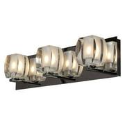 Access Lighting Evia 62288-CH/CRY 3-Light Vanity