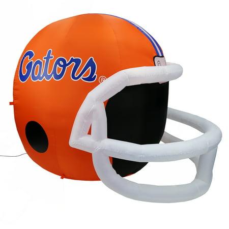 NCAA Florida Gators Team Inflatable Lawn Helmet, Orange, One Size