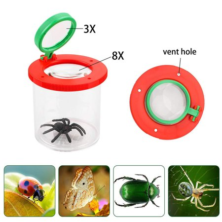 Magnifier Backyard Explorer Insect Bug Viewer Collecting Kit for Children
