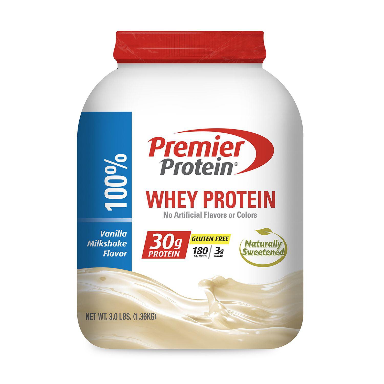 Premier Protein Whey Powder, 3.0 lbs. - Vanilla - Walmart.com