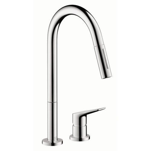 Hansgrohe Axor Citterio M Single Handle Deck Mounted Kitchen Faucet