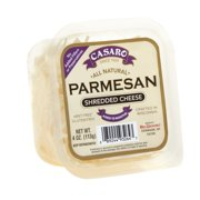 Casaro Shredded Parmesan Cheese, Specialty Shredded Cheese, 4 Oz Cup