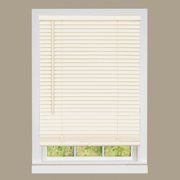 "Cordless Window Mini Blinds 1"" Slats Room Darkening Vinyl Blind - 64"" (Length)"