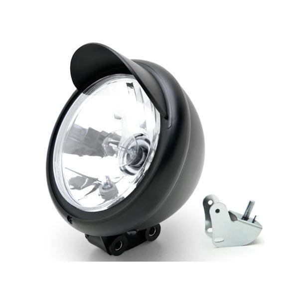 Motorcycle Custom Black Headlight Head Light For Suzuki Boulevard C109R C50 C90 - image 6 de 6