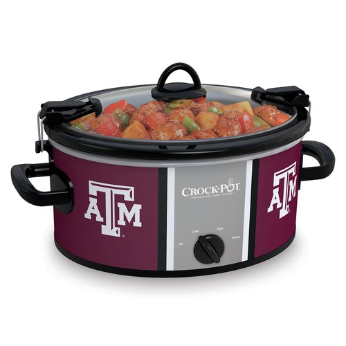 Crock-Pot NCAA 6-Quart Slow Cooker, Texas A&M Aggies