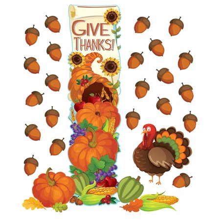 THANKSGIVING ALLINONE DOOR KITS - Classroom Door Ideas For Thanksgiving