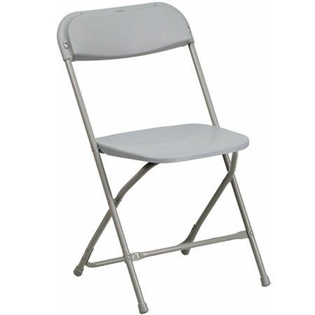 Advantage Series Light Weight Poly Folding Chair, Multiple Colors](Diy Folding Chair)