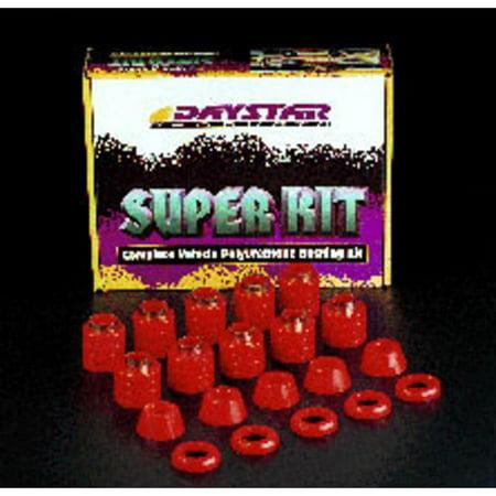Daystar Body Mount Kit (Black)