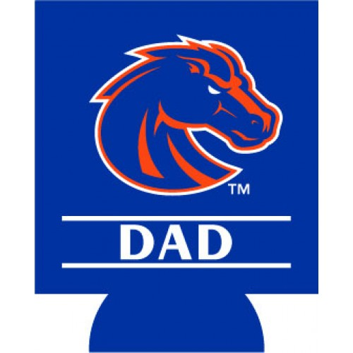 NCAA Boise State Broncos Dad Can Cooler Set of 4
