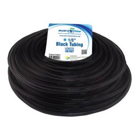 Hydro Flow Vinyl Tubing Black 1 8 In Id   1 4 In Od 100 Ft Roll