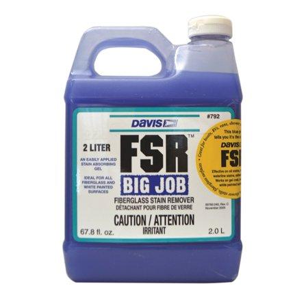 Davis 792 Fiberglass Stain Remover - 2 Liters