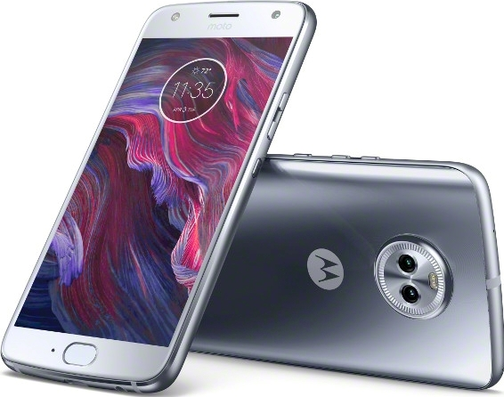 Motorola Moto X4 32GB Unlocked Smartphone, Sterling Blue