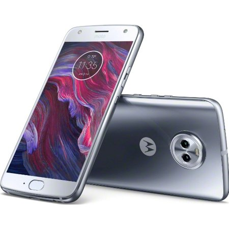 Motorola Moto X4 32GB Unlocked Smartphone, Sterling (Motorola Moto X 2nd Generation Unlocked Cellphone)