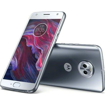 (Motorola Moto X4 32GB Unlocked Smartphone, Sterling Blue)