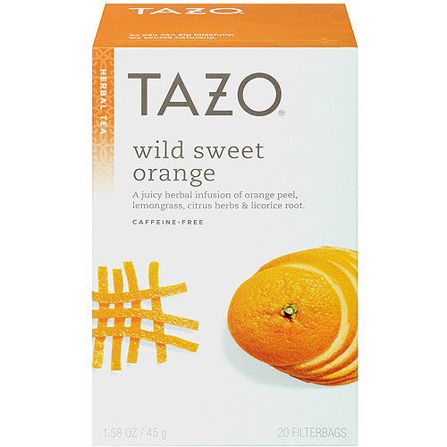 Tazo Wild Sweet Orange Tea, 20 count