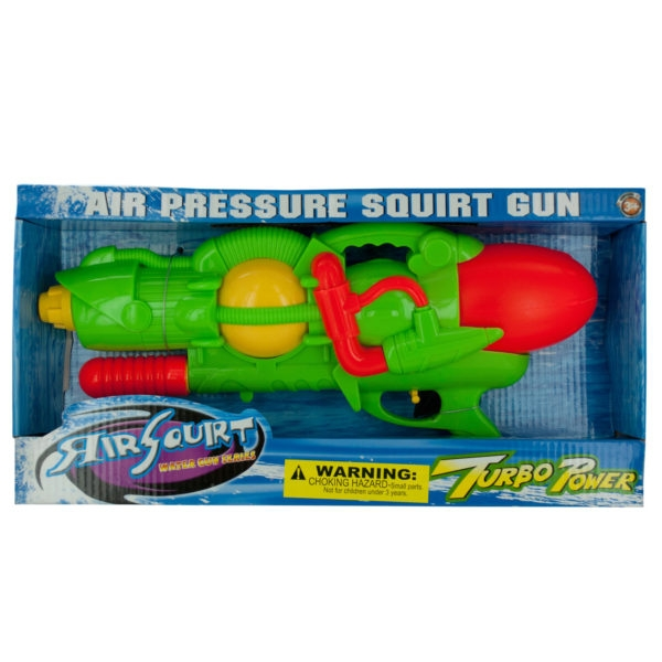 Air Squirt Turbo Power Water Gun (Lot of 3) by